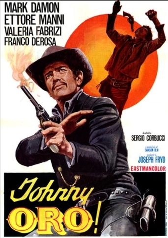 "Poster for the movie ""Johnny Oro"""