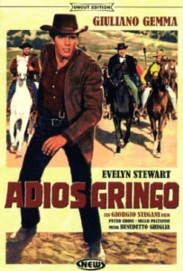"""Poster for the movie """"Adios gringo"""""""